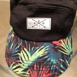 American Eagle Colorful Panel Dad hat